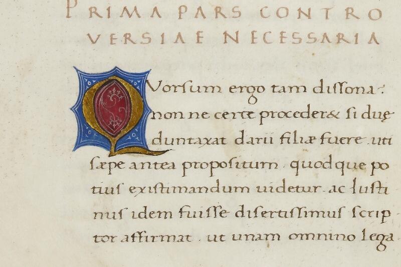 Caen, Bibl. mun., ms. 0343, f. 008v - vue 2