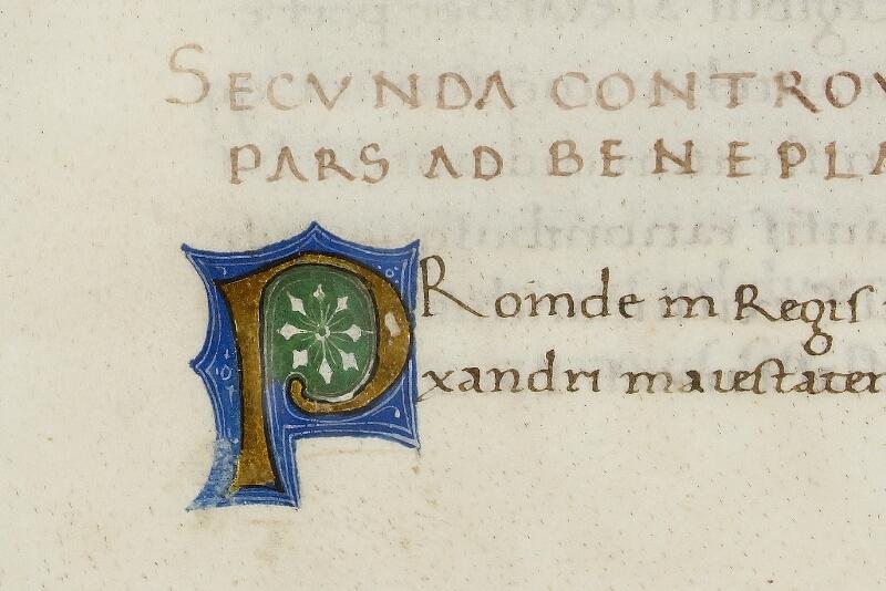 Caen, Bibl. mun., ms. 0343, f. 015 - vue 2