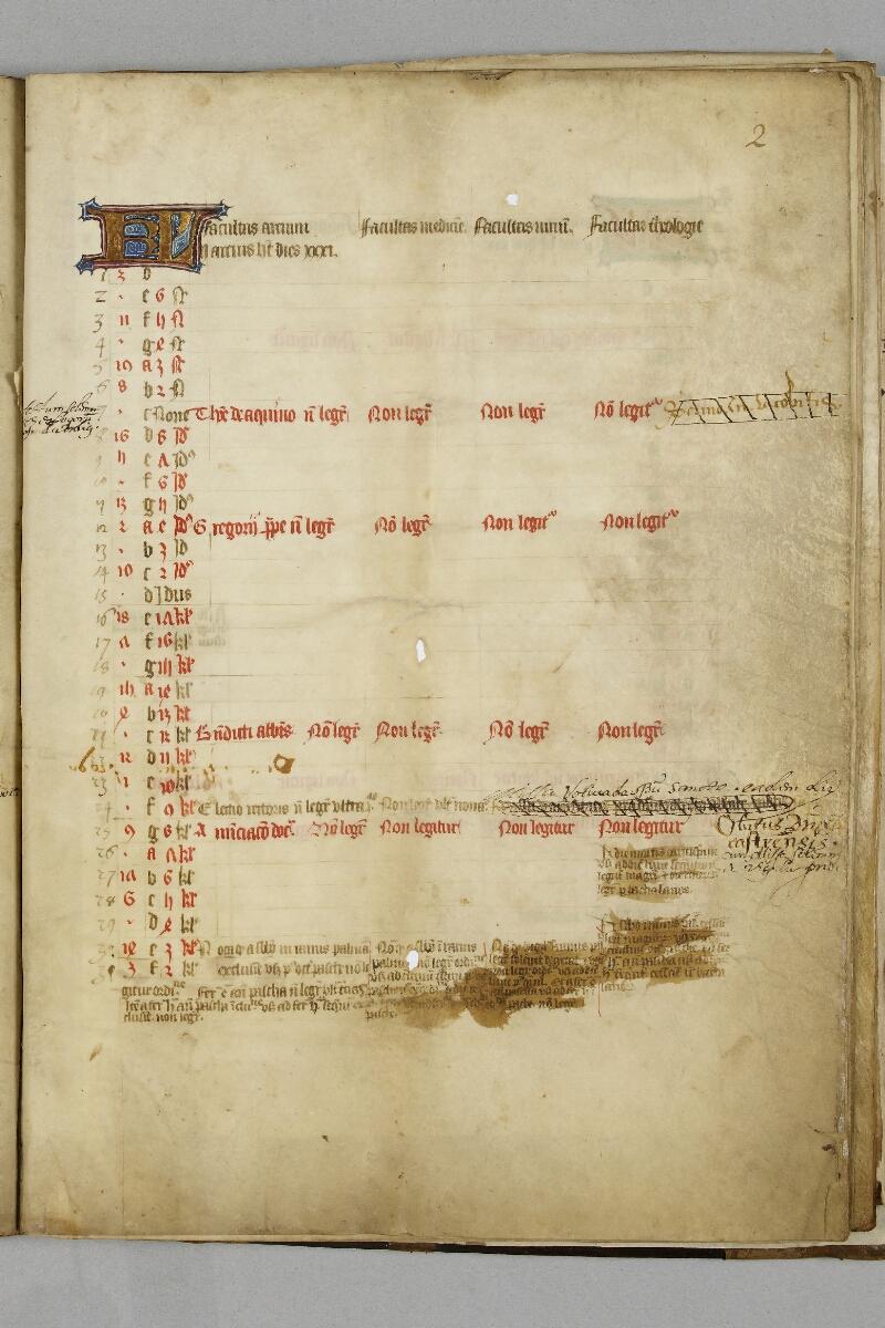 Caen, Bibl. mun., ms. 0446, f. 002 - vue 1