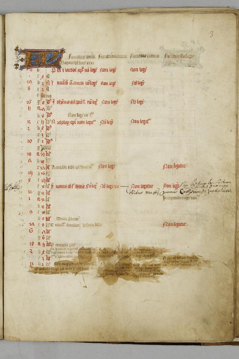 Caen, Bibl. mun., ms. 0446, f. 003 - vue 1