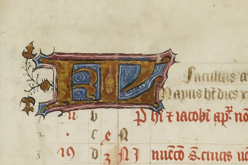 Caen, Bibl. mun., ms. 0446, f. 003 - vue 2