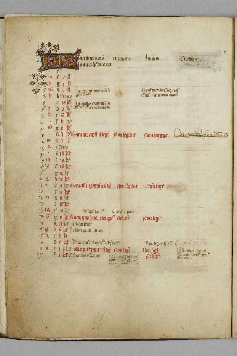Caen, Bibl. mun., ms. 0446, f. 003v - vue 1