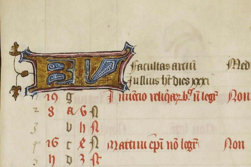 Caen, Bibl. mun., ms. 0446, f. 004 - vue 2