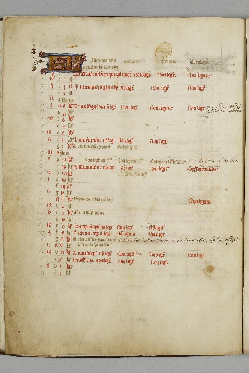 Caen, Bibl. mun., ms. 0446, f. 004v - vue 1