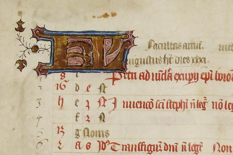 Caen, Bibl. mun., ms. 0446, f. 004v - vue 2