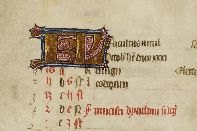 Caen, Bibl. mun., ms. 0446, f. 005v - vue 2