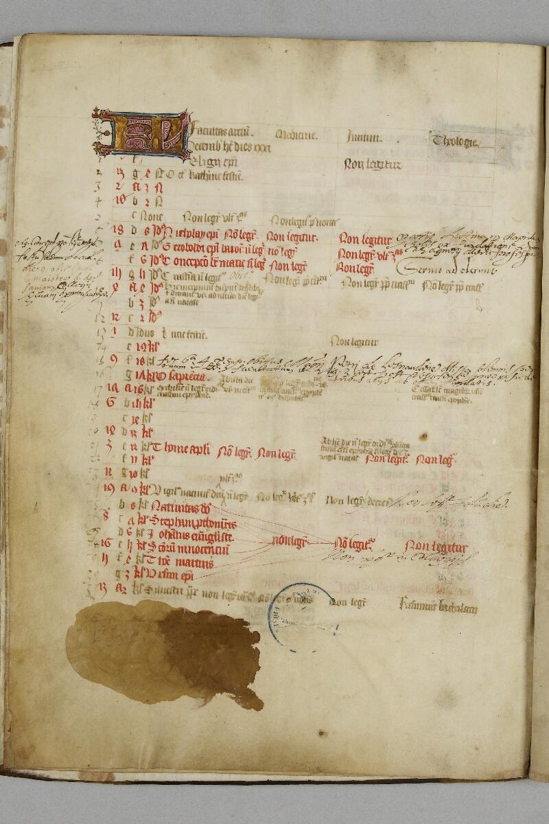 Caen, Bibl. mun., ms. 0446, f. 006v - vue 1