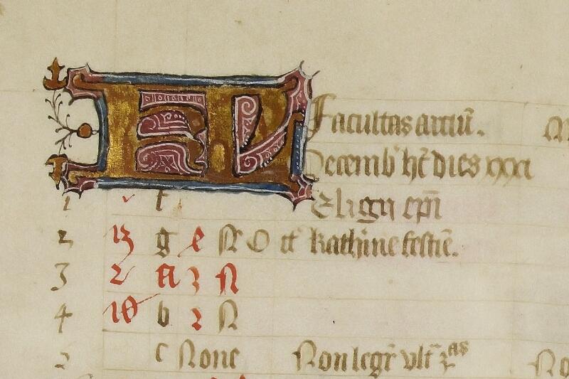 Caen, Bibl. mun., ms. 0446, f. 006v - vue 2