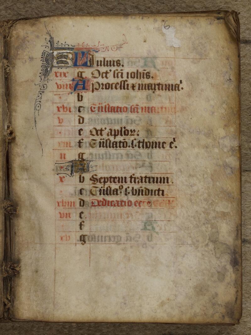 Caen, Bibl. univ., ms. 246627, f. 006 - vue 2