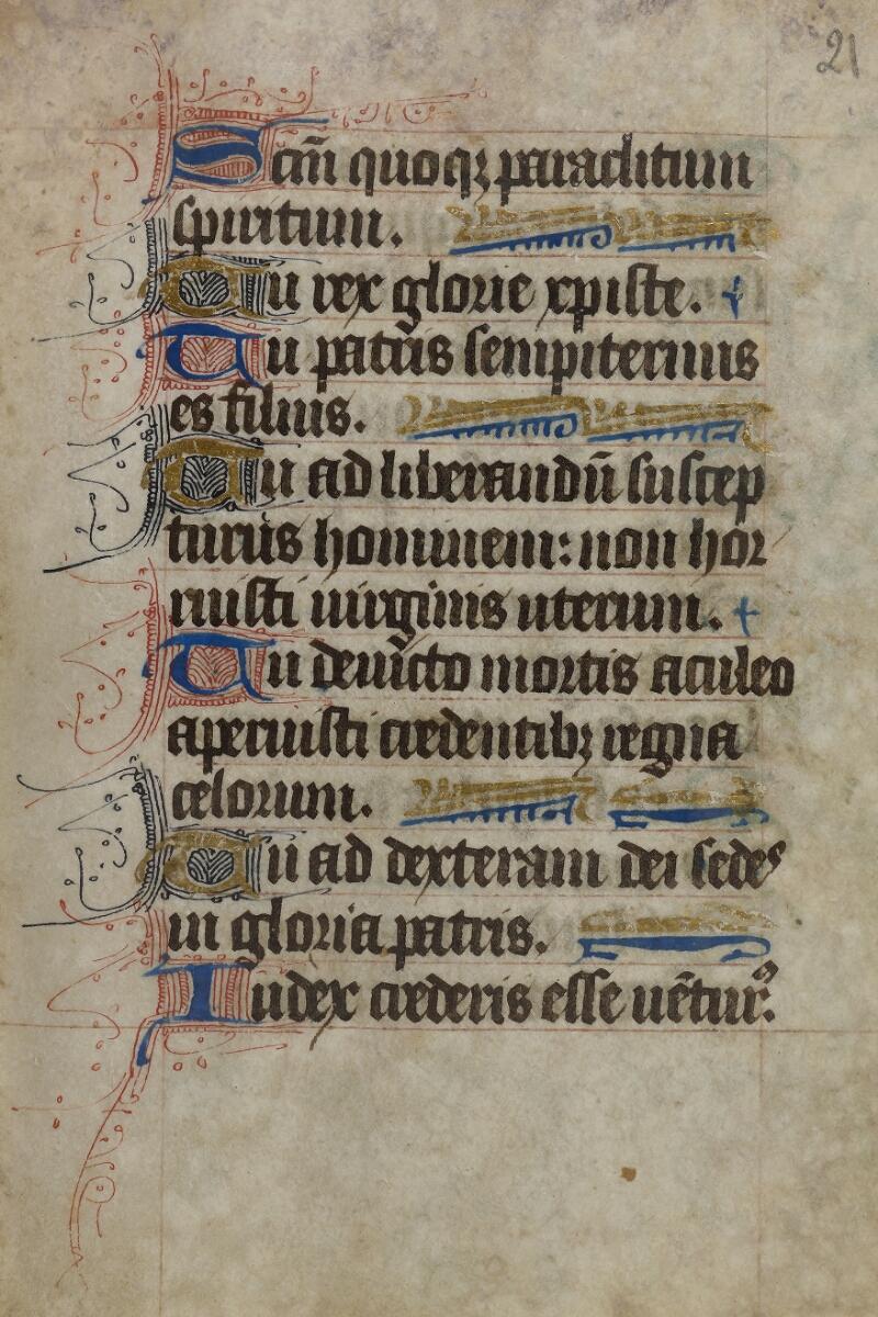 Caen, Bibl. univ., ms. 246627, f. 021 - vue 2
