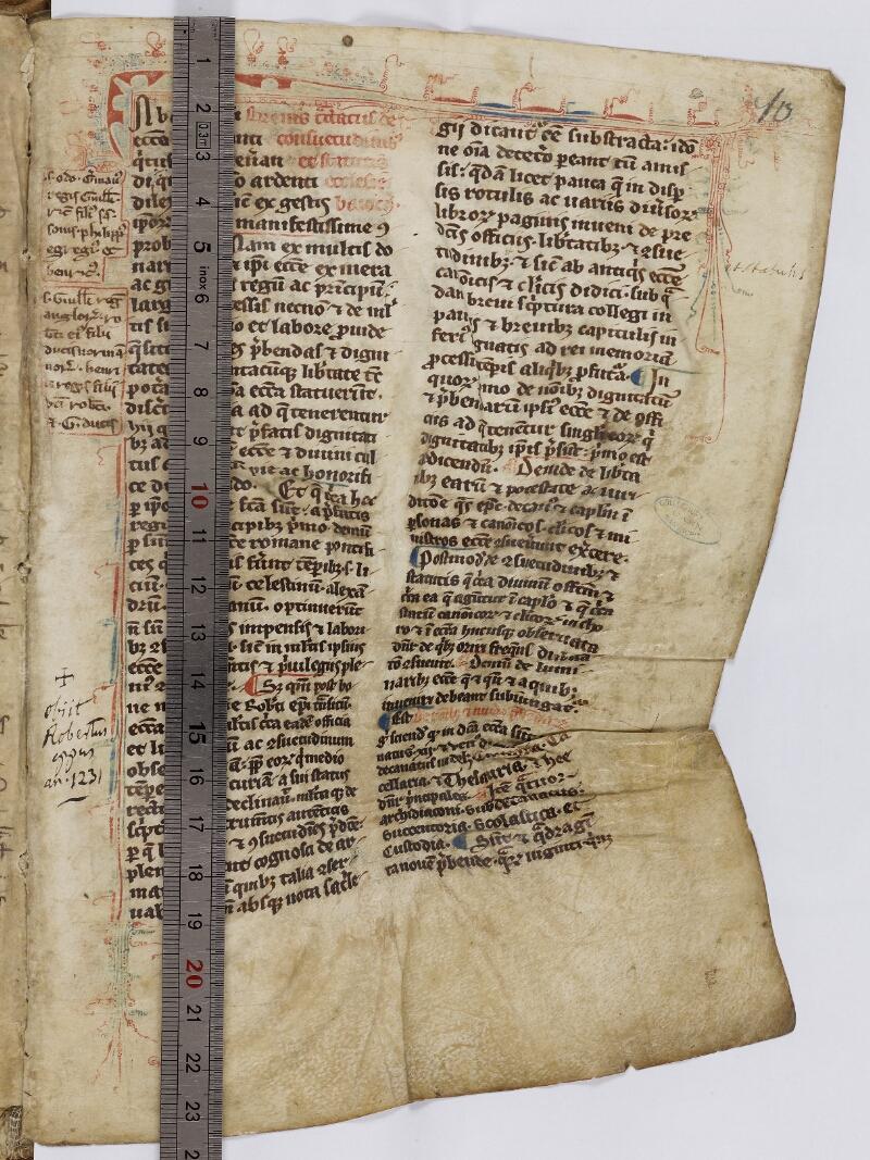 Caen, Musée, Coll. Mancel ms. 0086, f. 010 - vue 1