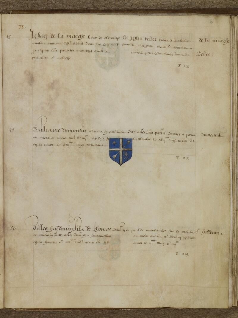 Caen, Musée, Coll. Mancel ms. 0156, f. 041