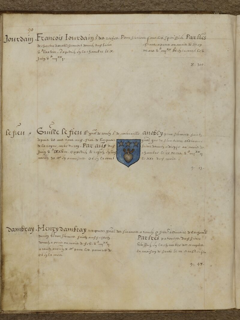 Caen, Musée, Coll. Mancel ms. 0156, f. 048v