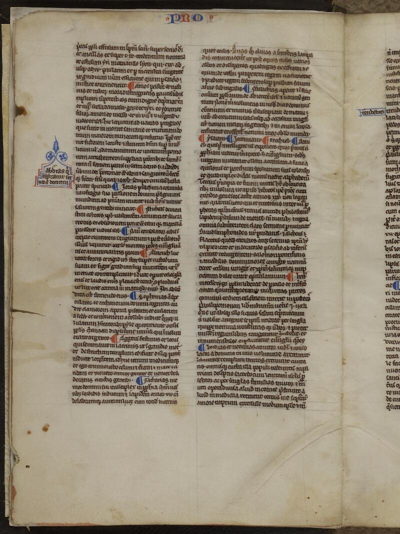 Caen, Musée, Coll. Mancel ms. 0236, f. 002v