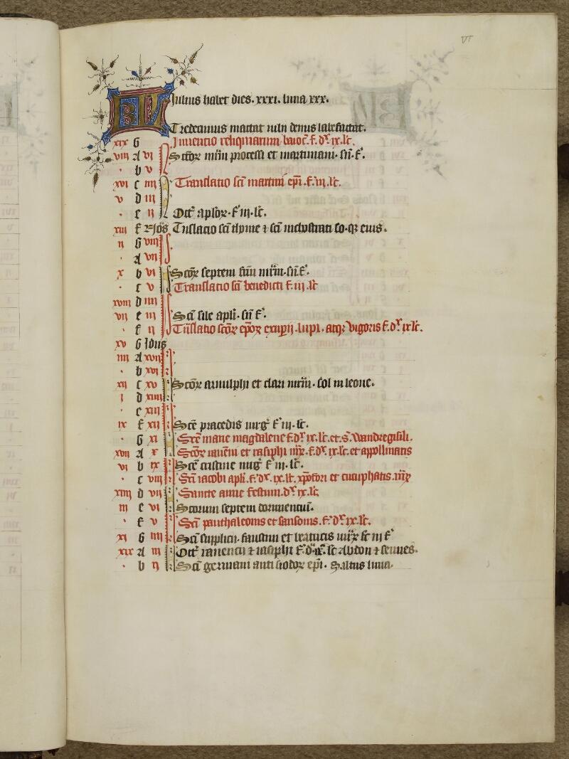Caen, Musée, Coll. Mancel ms. 0237, f. 000VI