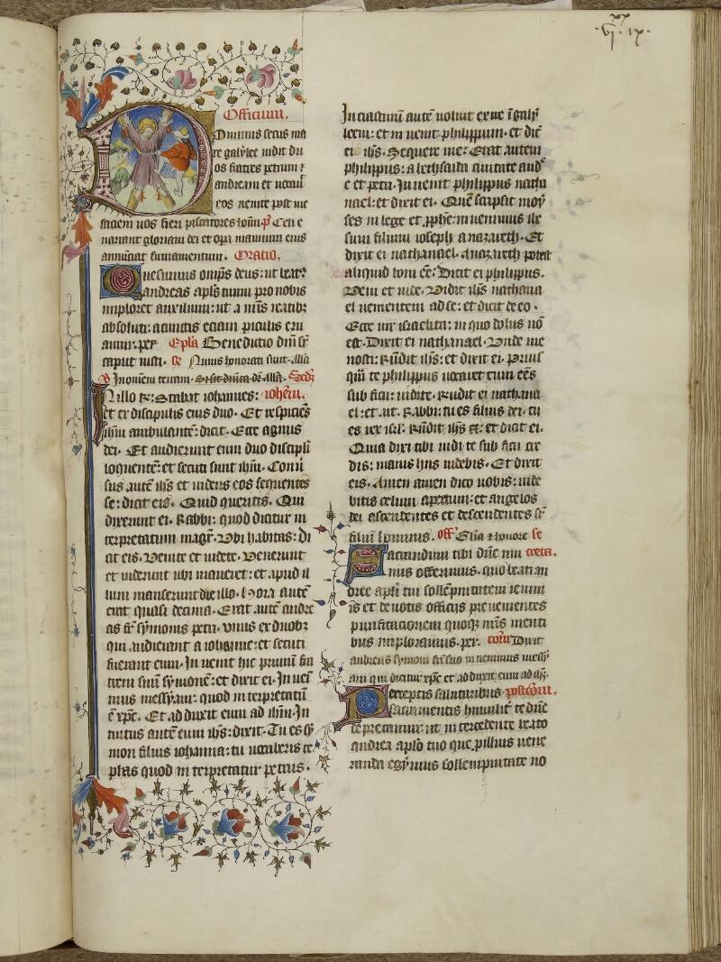 Caen, Musée, Coll. Mancel ms. 0237, f. 129