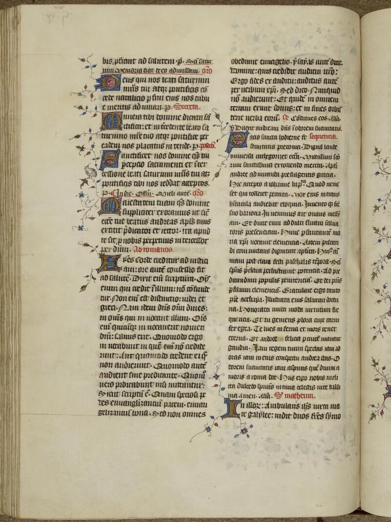 Caen, Musée, Coll. Mancel ms. 0237, f. 129v