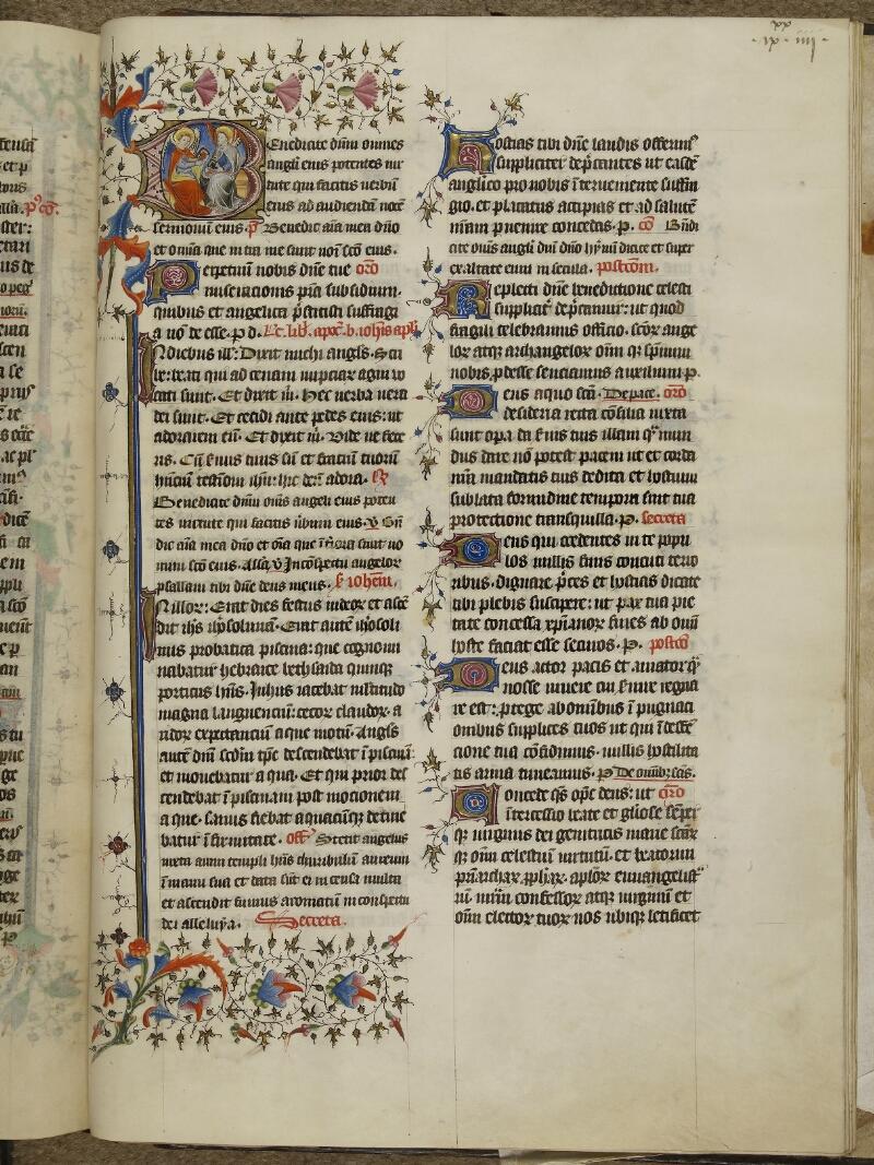 Caen, Musée, Coll. Mancel ms. 0237, f. 184
