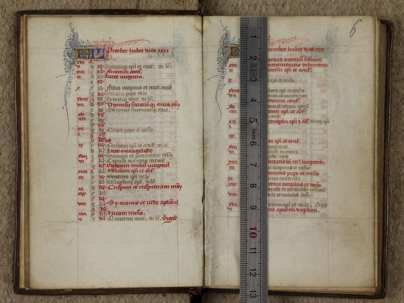 Caen, Musée, Coll. Mancel ms. 0238, f. 005v-006 - vue 1
