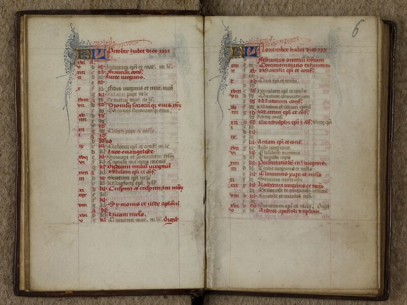 Caen, Musée, Coll. Mancel ms. 0238, f. 005v-006 - vue 2