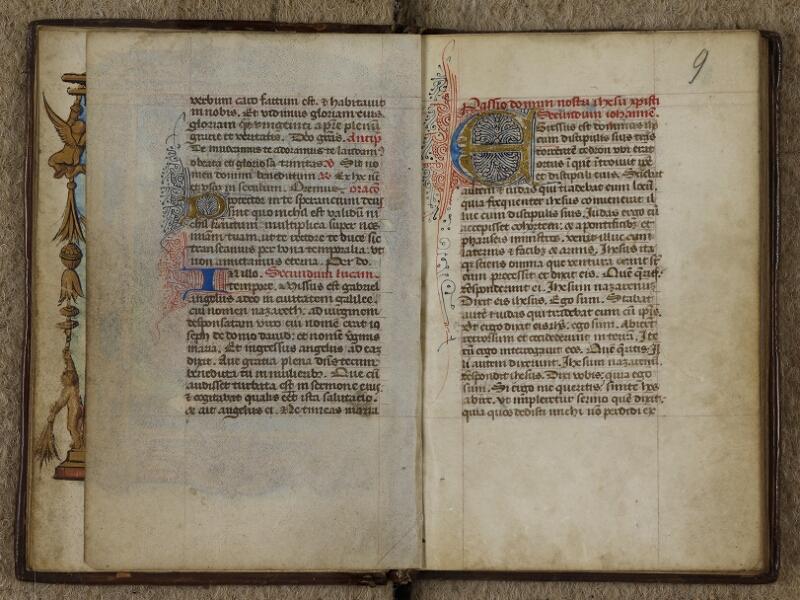 Caen, Musée, Coll. Mancel ms. 0238, f. 008v-009