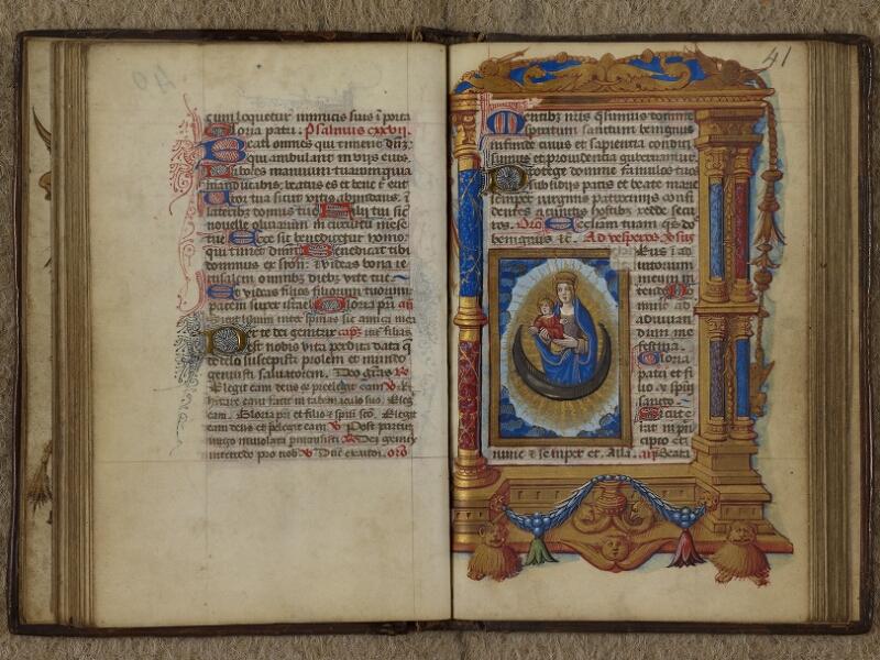 Caen, Musée, Coll. Mancel ms. 0238, f. 040v-041
