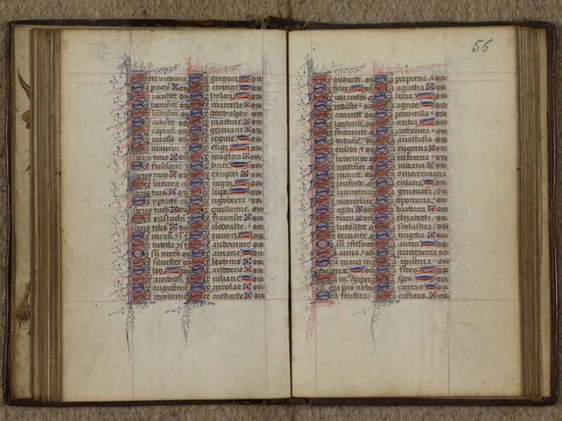 Caen, Musée, Coll. Mancel ms. 0238, f. 055v-056