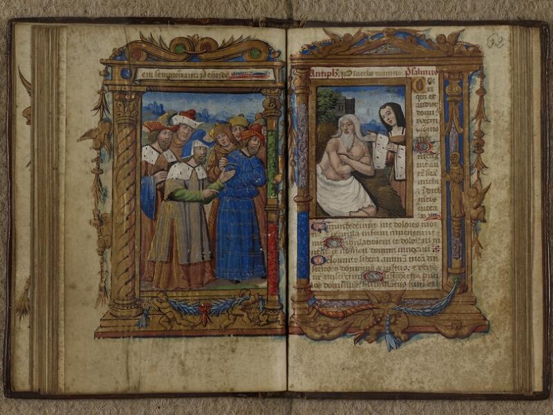 Caen, Musée, Coll. Mancel ms. 0238, f. 061v-062
