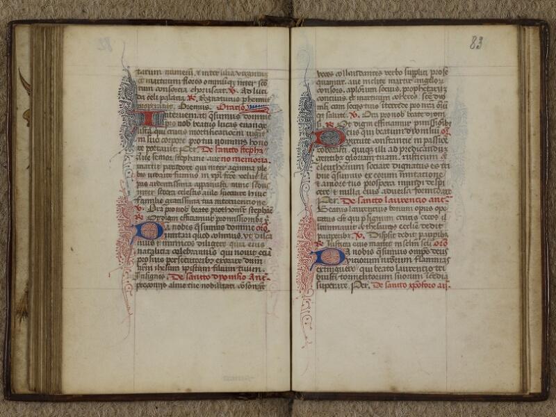 Caen, Musée, Coll. Mancel ms. 0238, f. 082v-083