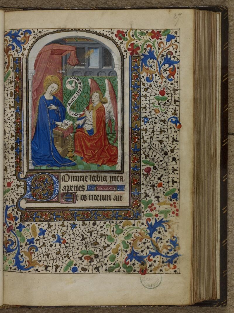 Caen, Musée, Coll. Mancel ms. 0239, f. 027