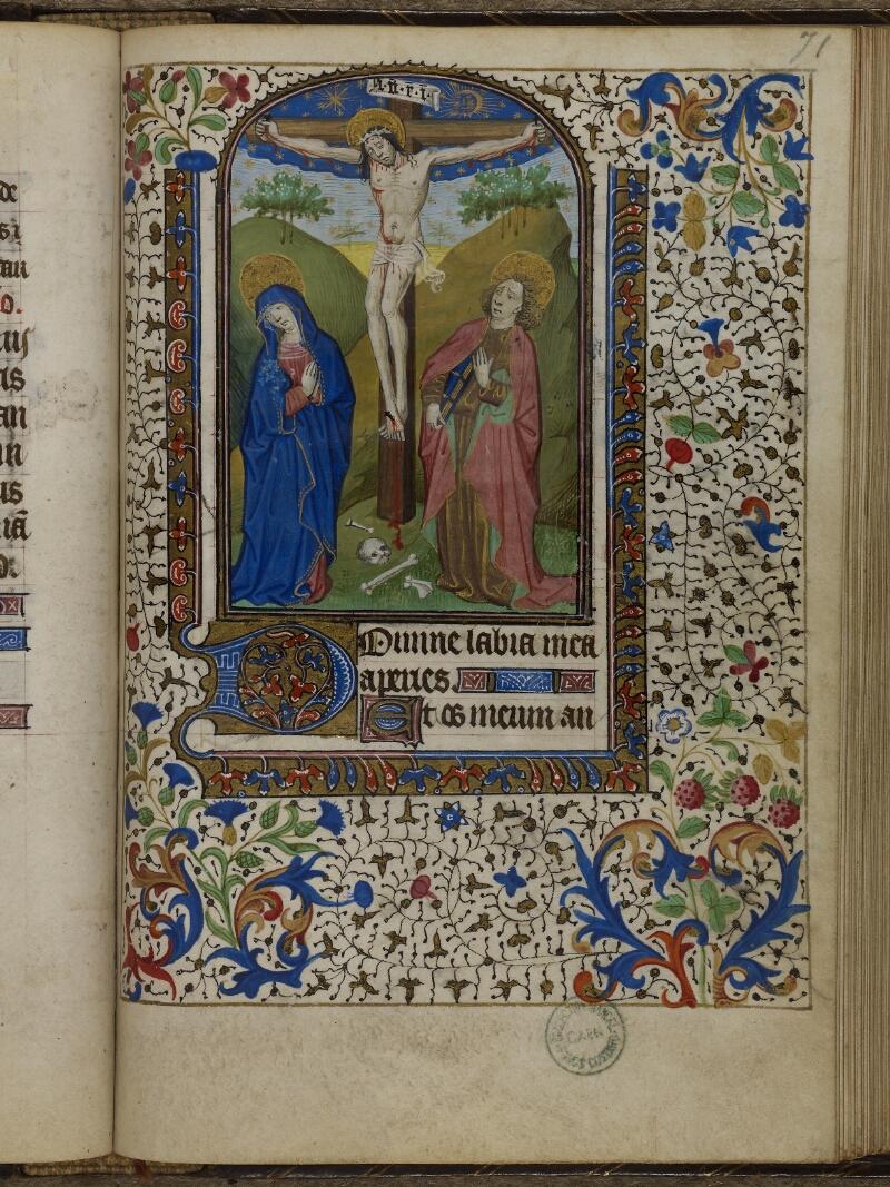 Caen, Musée, Coll. Mancel ms. 0239, f. 071