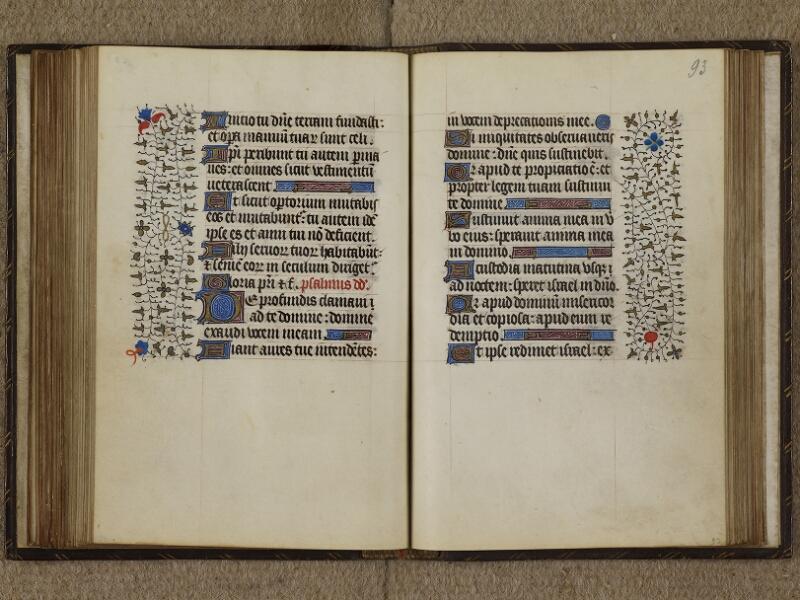 Caen, Musée, Coll. Mancel ms. 0239, f. 092v-093