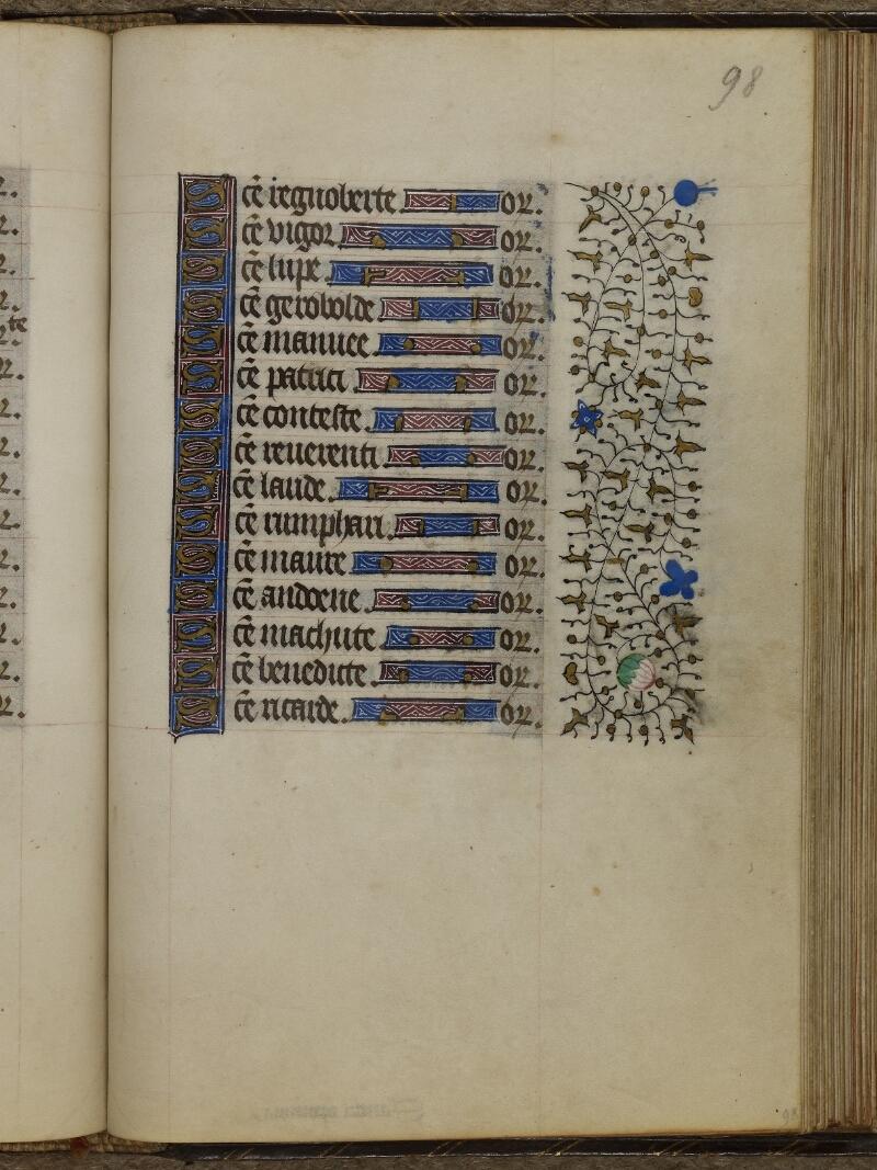Caen, Musée, Coll. Mancel ms. 0239, f. 098