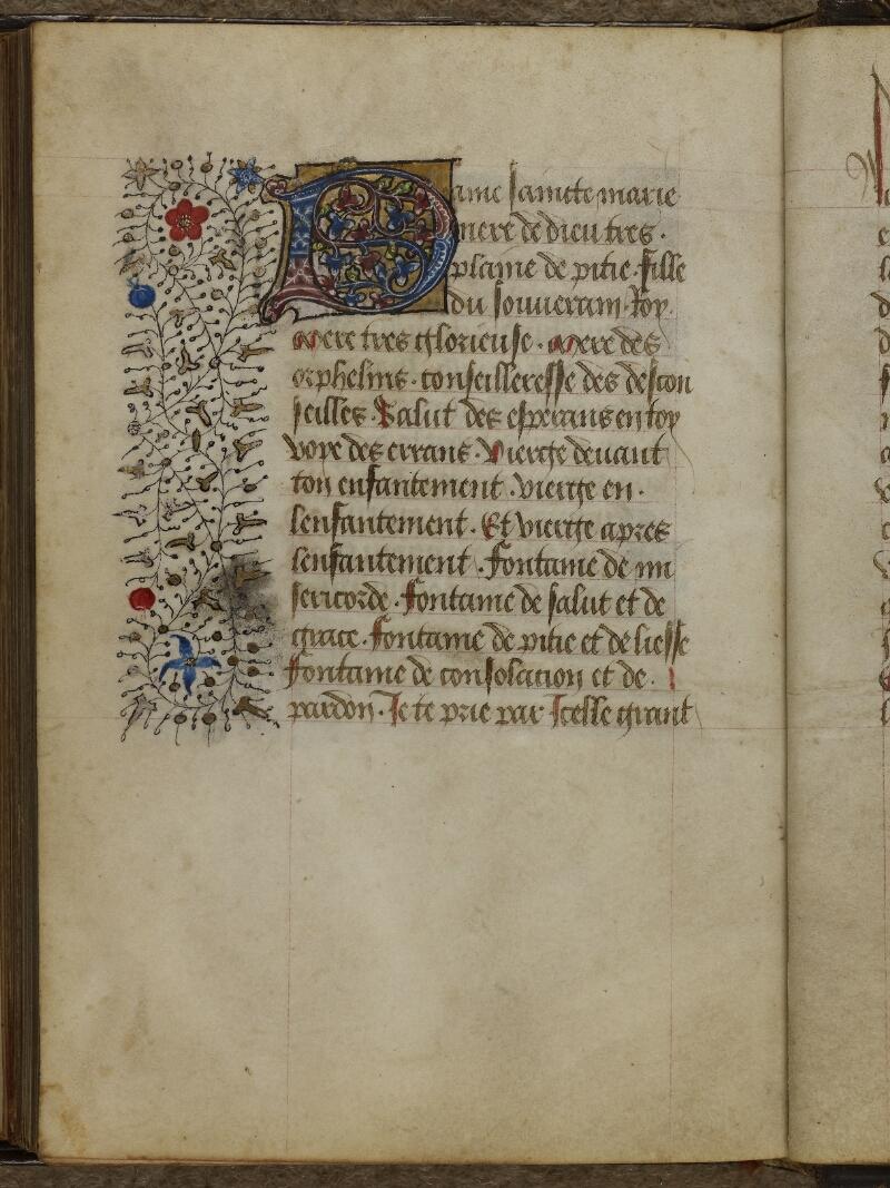 Caen, Musée, Coll. Mancel ms. 0239, f. 134v