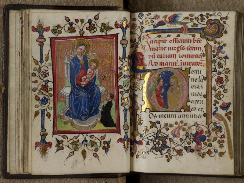 Caen, Musée, Coll. Mancel ms. 0241, f. 019v-020