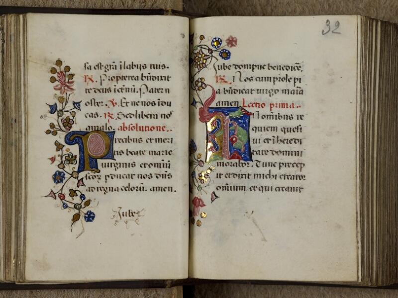Caen, Musée, Coll. Mancel ms. 0241, f. 031v-032