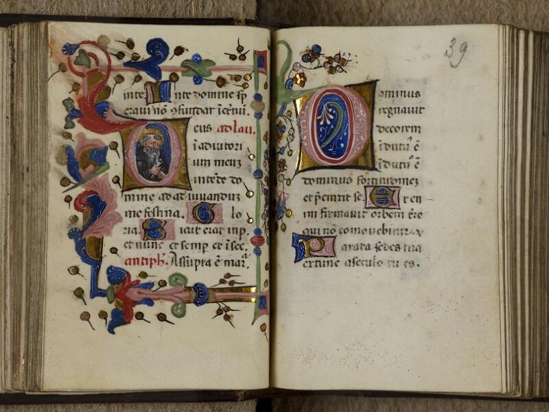 Caen, Musée, Coll. Mancel ms. 0241, f. 038v-039