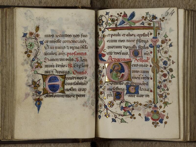 Caen, Musée, Coll. Mancel ms. 0241, f. 063v-064