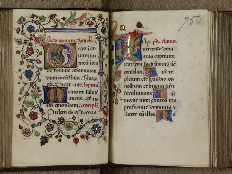 Caen, Musée, Coll. Mancel ms. 0241, f. 074v-075