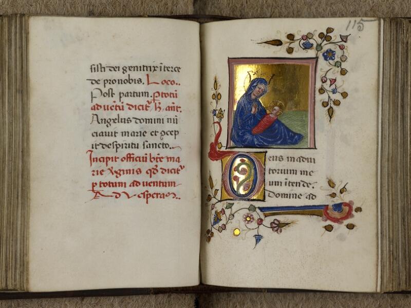 Caen, Musée, Coll. Mancel ms. 0241, f. 114v-115