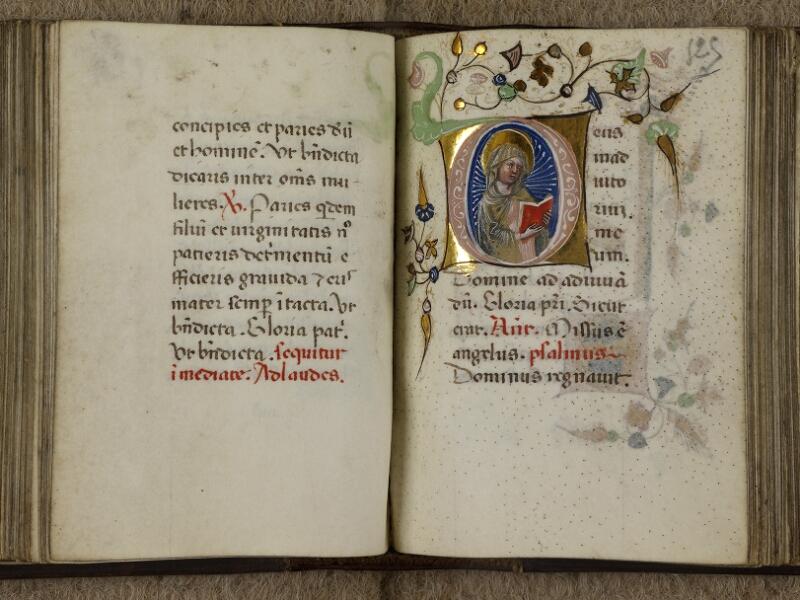 Caen, Musée, Coll. Mancel ms. 0241, f. 124v-125