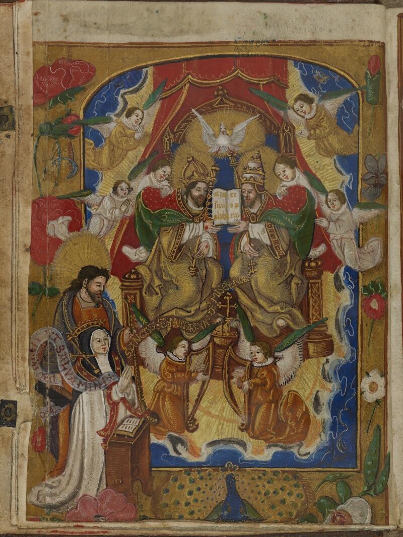 Caen, Musée, Coll. Mancel ms. 0242, f. 000Av