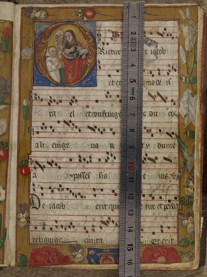 Caen, Musée, Coll. Mancel ms. 0242, f. 001- vue 1