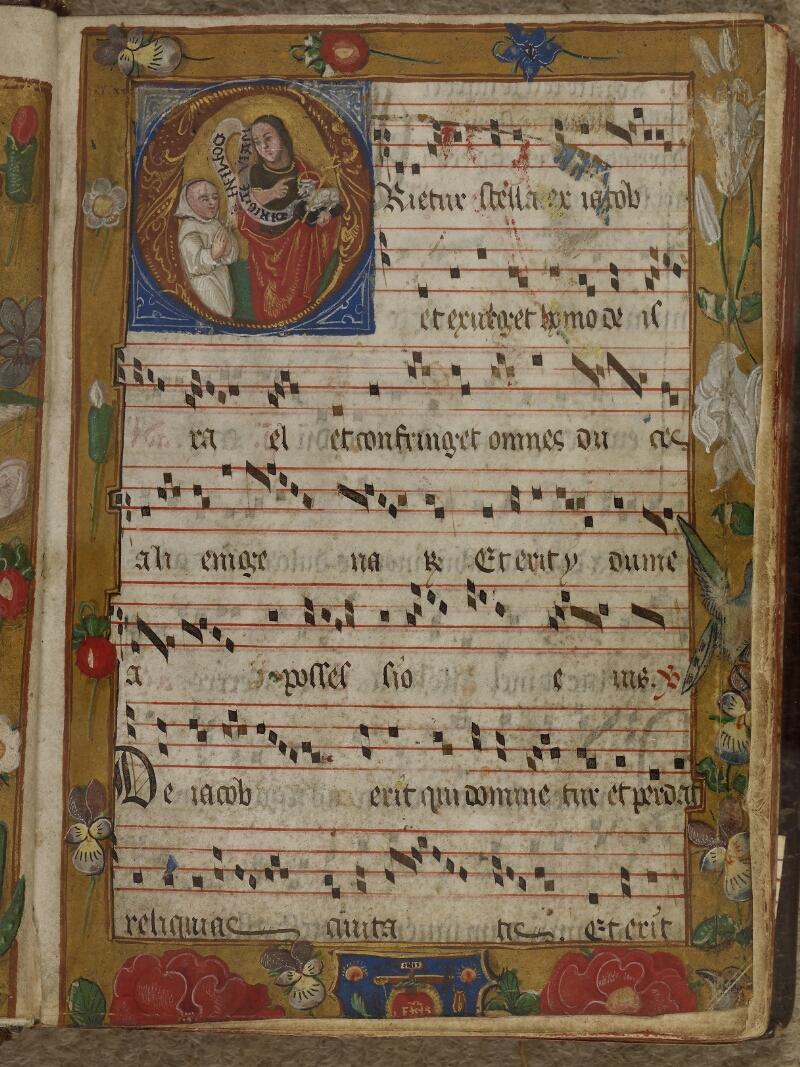 Caen, Musée, Coll. Mancel ms. 0242, f. 001- vue 2