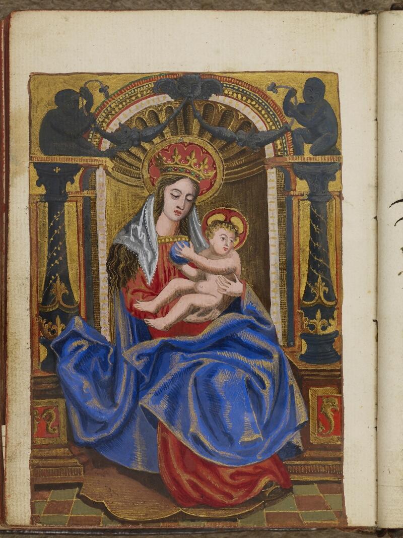 Caen, Musée, Coll. Mancel ms. 0242, f. 151