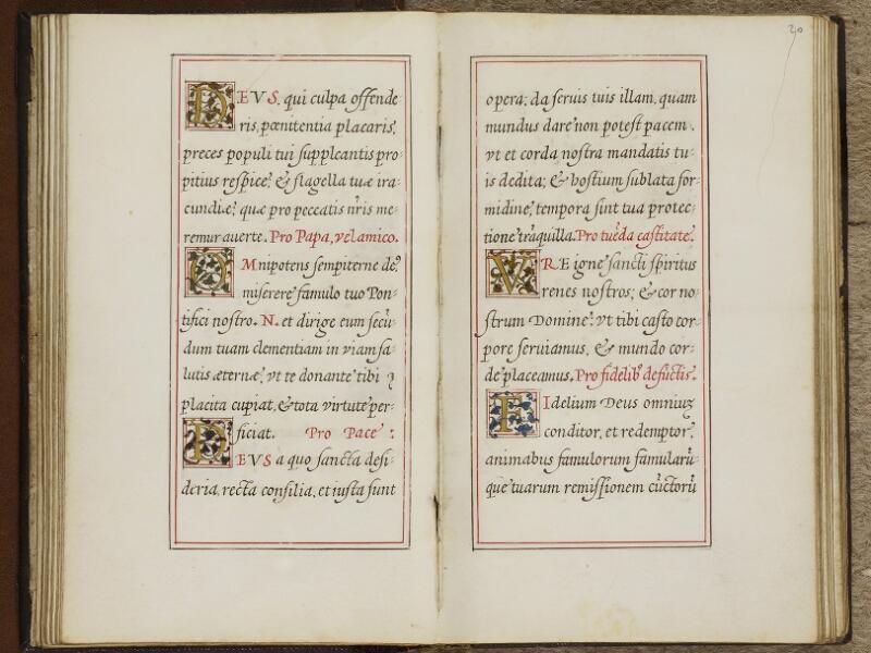 Caen, Musée, Coll. Mancel ms. 0244, f. 019v-020