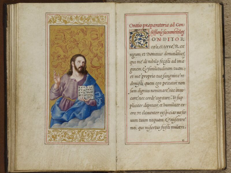 Caen, Musée, Coll. Mancel ms. 0244, f. 022v-023