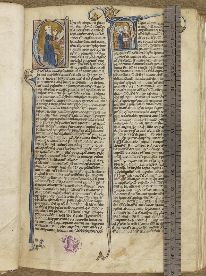 Caen, Musée, Coll. Mancel ms. 0245, f. 011 vue 1