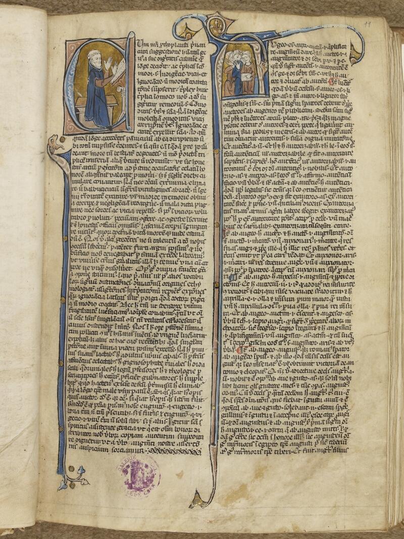 Caen, Musée, Coll. Mancel ms. 0245, f. 011- vue 2