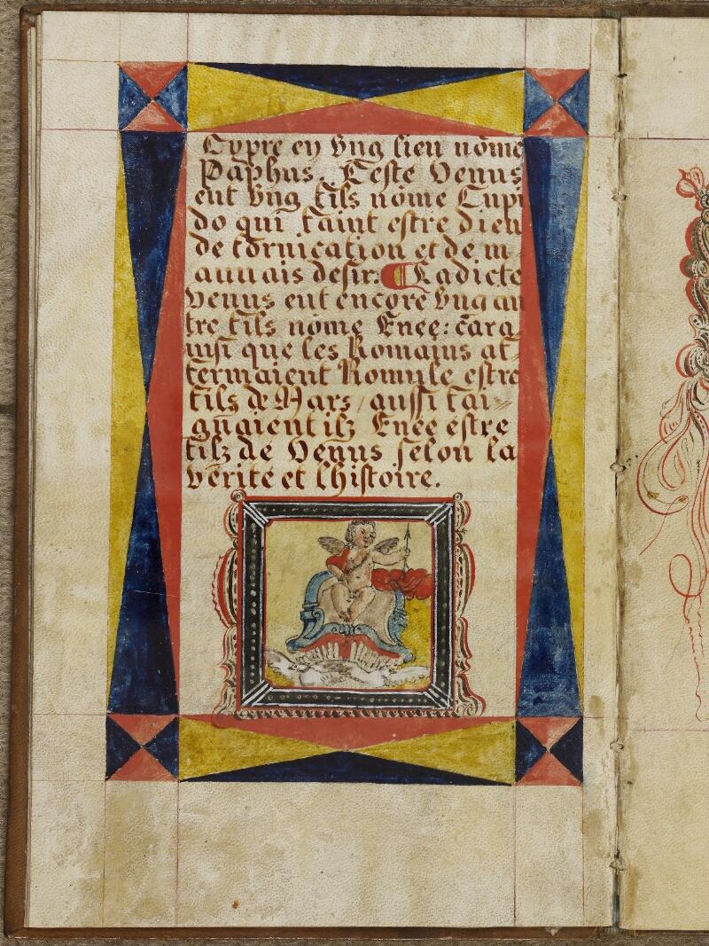 Caen, Musée, Coll. Mancel ms. 0258, f. 004v